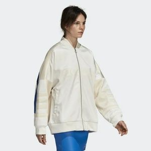 Adidas Chalk White Track Jacket